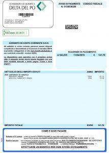 Consorzio di Bonifica Delta del Po Avviso-214x300 Avvisi pagamento contributi anno 2016