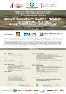 Consorzio di Bonifica Delta del Po Miniatura_Locandina-34x485-210x300 Seminario commemorativo degli eventi alluvionali nel Polesine del 1951 e 1956 nella ricorrenza del 65° e 50° anniversario