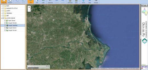 Consorzio di Bonifica Delta del Po WebGis-520x245 Pubblicazione sito WEB consorziale