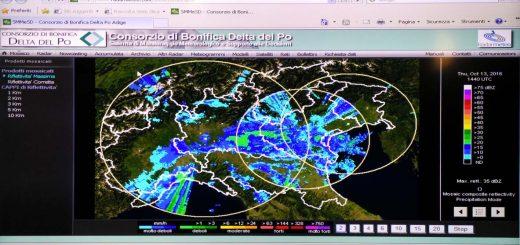 Consorzio di Bonifica Delta del Po Radarmeteo-520x245 Sistema di monitoraggio meteo