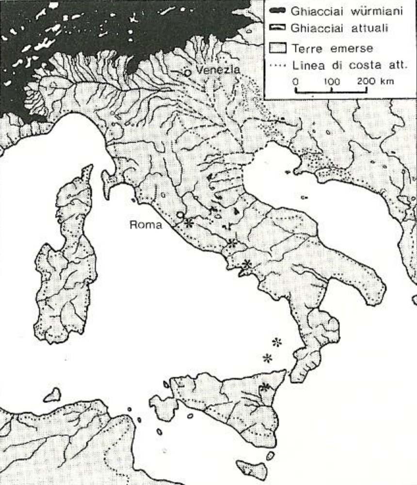 Cartina Italia Pianure.La Formazione Della Pianura Padana Consorzio Di Bonifica Delta Del Po