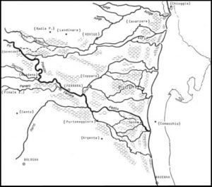 Consorzio di Bonifica Delta del Po Fig-8-300x264 La formazione del Delta del Po