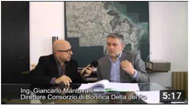 Consorzio di Bonifica Delta del Po Ing.-G.Carlo-Mantovani-sulle-estrazioni-di-metano-nel-Delta-del-Po Video