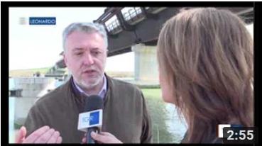 Consorzio di Bonifica Delta del Po TGR-LEONARDO-Allarme-cuneo-salino Video